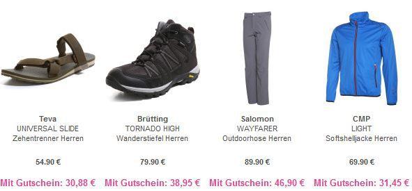 Outdoor Sale Vaola VAOLA   Outdoor Special mit 70% Rabatt + 25% Sofort Rabatt   z.B Osprey Farpoint 40 Rucksack statt 111€ für 81€