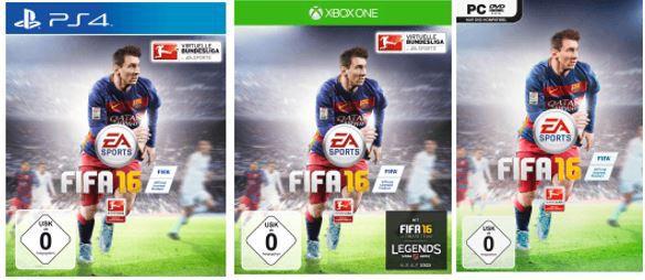 FIFA 16   PS4 Xbox One und PC für je 19,99€ bei den Saturn Weekend Deals