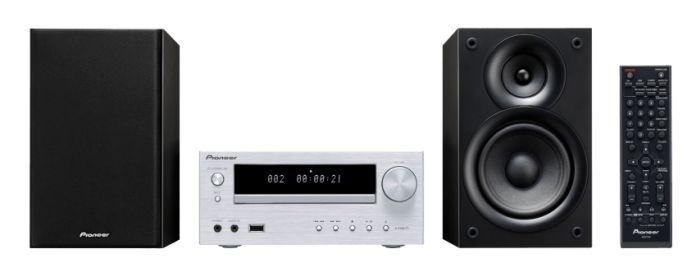 PIONEER X HM21BT S Kompaktanlage (2x15W, Bluetooth, USB) für nur 119,99€ (statt 223€)