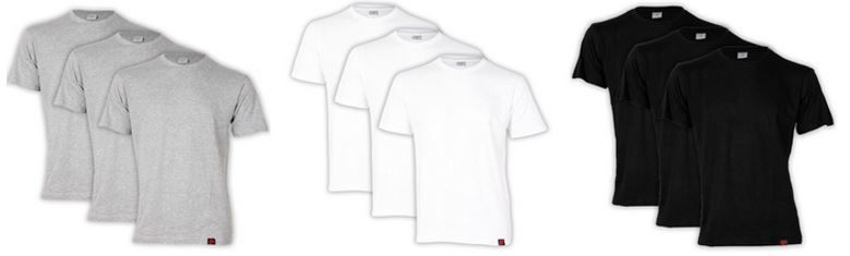 Pierre Cardin Herren Shirt Pierre Cardin   3er Set Herren T Shirts für 12,95€