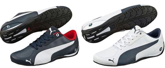 Puma BMW MS Drift Puma BMW MS Drift Cat 5 NM 2   Herren Leder Sneaker für 58,99€