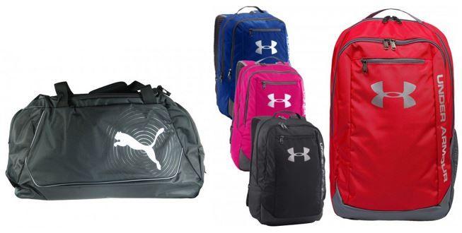 arena und Nike Sporttaschen Sale ab 9,99€ bei Outlet46