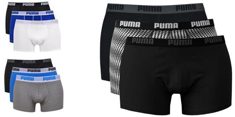 Puma Herren Boxer Shorts 6er Pack Puma Herren Boxershorts für je 23,96€