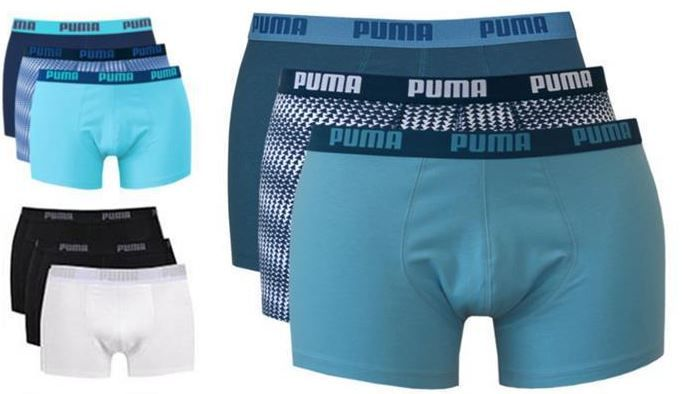 6er Pack Puma Herren Boxershorts für je 23,96€