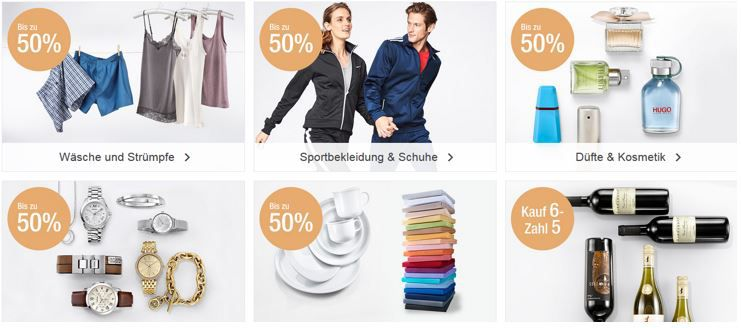 Rabatte bis der Arzt kommt Galeria Kaufhof Mega Sale mit bis zu 50% auf ausgewählte Artikel + 20% Extra Rabatt