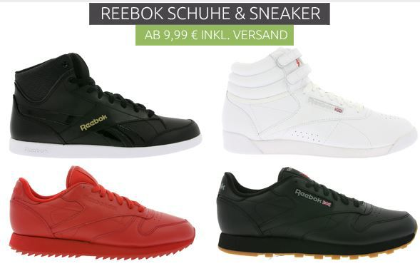 Reebock Outlet Sale Outlet46: Reebok Schuhe bereits ab 9,99€
