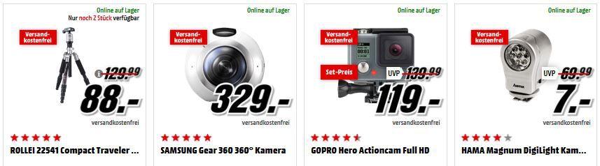 Rollei Stativ ROLLEI Sportsline 85 Cam für 44€ und mehr beim Media Markt Foto Deal