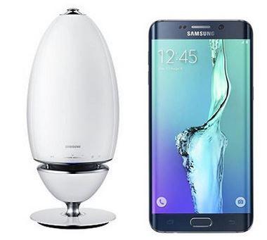 Samsung S6 edge + SAMSUNG WAM 7501 HiFi Wireless Audio + 50€ Gutschein statt 749€ für 489€