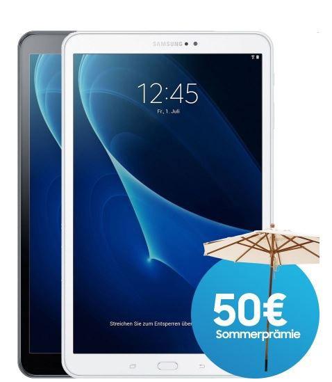 Samsung Galaxy Tab A 2016 T585 10.1 LTE Samsung Galaxy Tab T585   10.1 Android Tablet mit WiFi + LTE 16GB für 289,90€ + 50€ Cashback