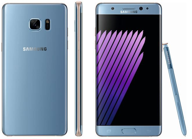 Samsung Note 71 Samsung N930F GALAXY Note 7   5,7 Zoll Android 64 GB Smartphone schwarz für 849€
