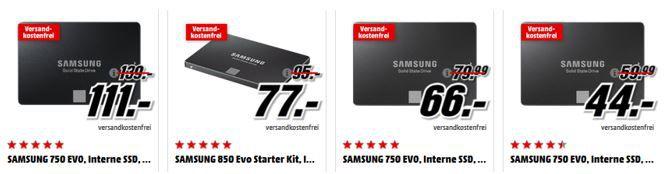 Samsung SSD Angebote SAMSUNG 128 GB microSDXC Card für 29€   in der Media Markt Samsung Tiefpreisspätschicht