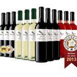 Sauron Roble Toro D.O. 2013 – 12er Probierpaket spanischer Rot, Weiß und Rosewein für 49,95€