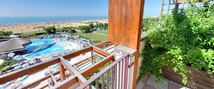 Savoy Beach teaser 2 ÜN in Venetien im 5* Hotel inkl. Halbpension, Welcome Drink, Thermapool für 129€ p.P.