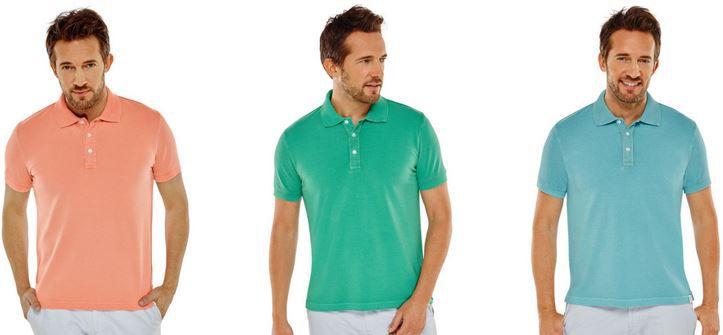 Schiesser Heren Polo Shirt 3er Pack Schiesser Herren kurzarm Poloshirt für nur 50,73€ (statt 66€)