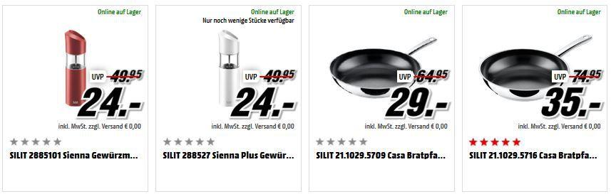 Silit Sale Media Markt Mega Marken Sparen Haushaltsartikel: z.B. WMF Kult Pro Standmixer 111€