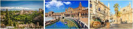Spinal 7 Tage Andalusien Rundreise inkl: Flug, Hotel und Mietwagen ab 349€p.P.