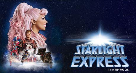 Starlight Express   Family und Friends Aktion: 5 Tickets schon ab 99€