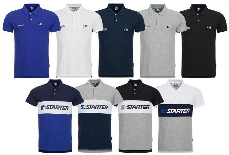 STARTER Herren Poloshirts bis XL für je 9,99€ (statt 16€)