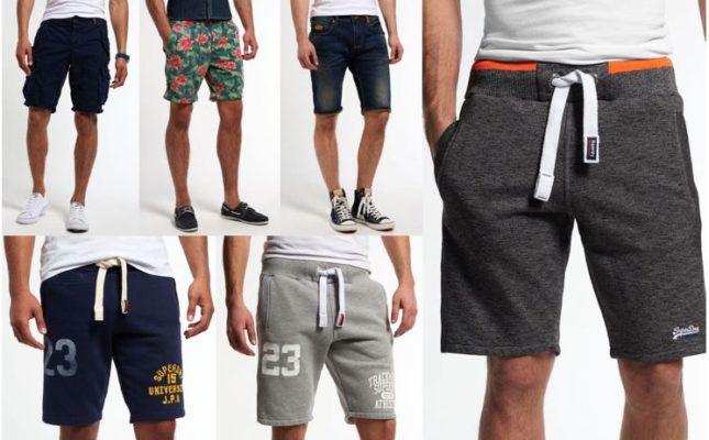 Superdry Herren Shorts   div. neue Modelle für je 27,95€