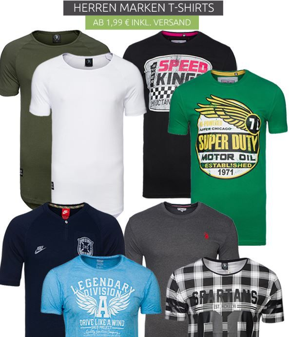 T.Shirts Sale Texas bull Shirts für 1,99€ im T Shirts Sale bei Outlet46