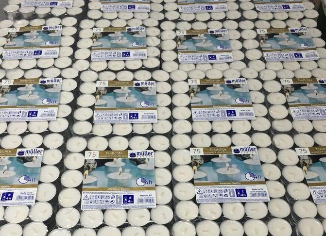 Teelichter: 450Stück für nur 19,99€