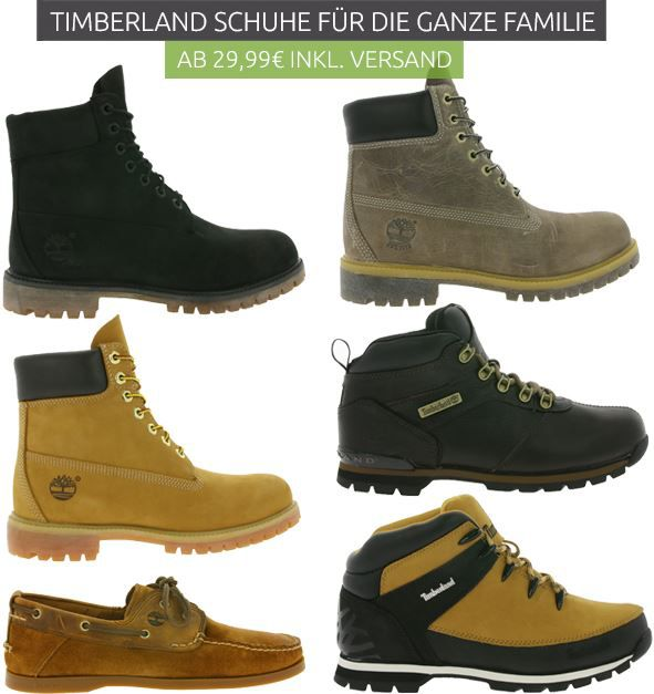 Timberland Sale Outlet46 Timberland: Schuhe, Boots für Damen und Herren ab 29,99€ im Qutlet46 Sale