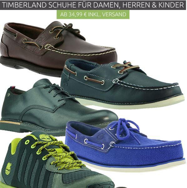 Timberland Timberland: Schuhe, Boots für Damen und Herren ab 34,99€ im Qutlet46 Sale