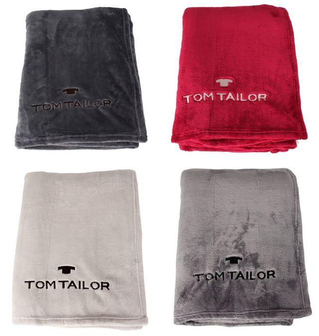 Tom Tailor Super Soft Fleece Decken (150x200cm) für je 24€ (statt 35€)