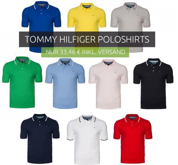 Tommy Hilfiger Golf Linie   Herren Polo Shirts für je 33,46€