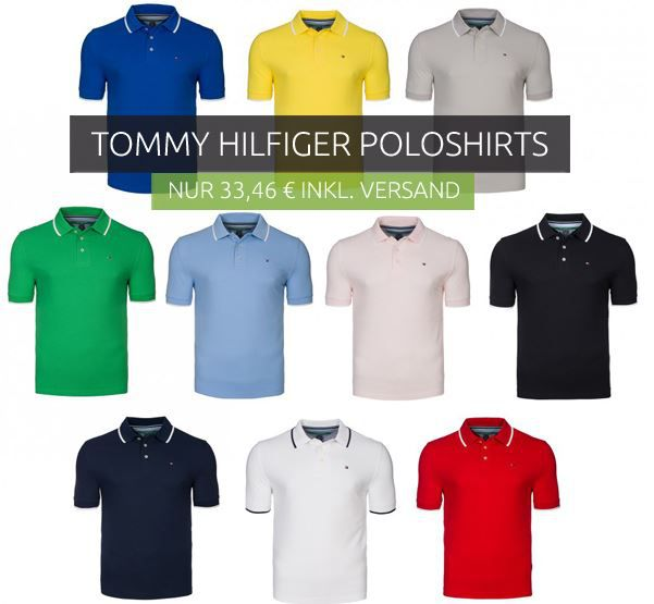 Tommy Hilfiger Golf Line Polos Tommy Hilfiger Golf Linie   Herren Polo Shirts für je 33,46€
