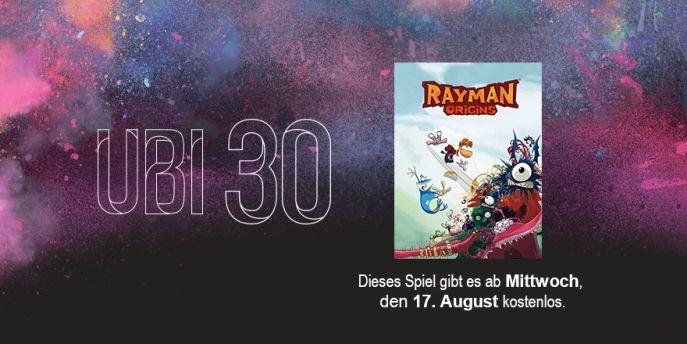 Rayman Origins im Ubisoft Club gratis