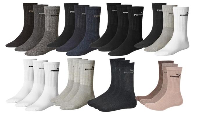 Unbenannt4 e1472298446157 9er Pack PUMA Socken für 9,99€ im Sale bei Outlet46