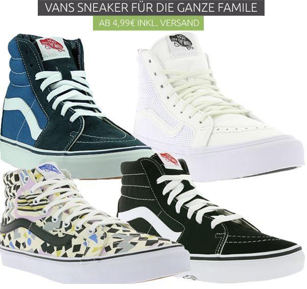 Vans Sneaker Sale Vans Sneaker   im Outlet46 Sale ab 9,99€