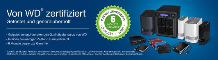 WDRecertified banner 900x250 DE2 e1471083533641 Western Digital refurb. Festplatten im Angebot