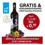 Gratis: Primitivo Selezione del Re 2012 Wein – ab 5€ MBW – schnell sein