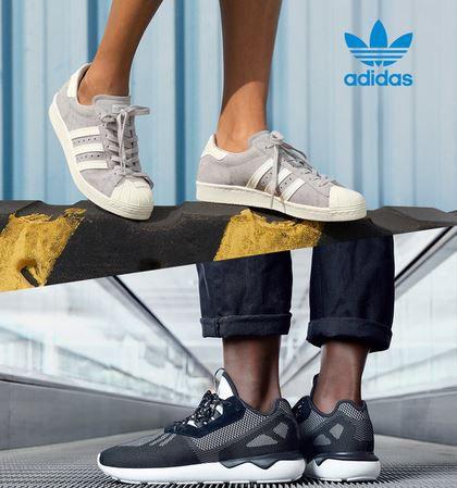Adidas Damen und Herren Sneaker Sale mit 75% Rabatt + 20