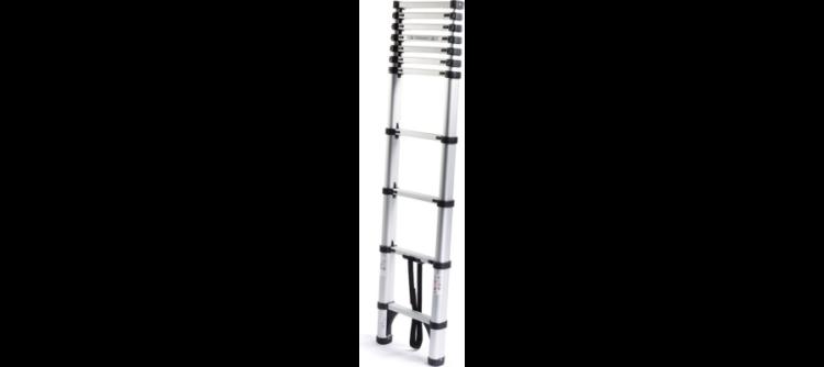 Atrox Aluminium Teleskopleiter 3,2 m für 64,99€ bzw. 3,8 m für 74,99€