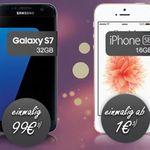 iPhone SE (oder Samsung S7 edge) + Blau.de (O2) AllNet Flat + 1,8 GB Daten ab 22,99€ mtl.