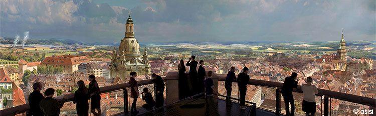 2 ÜN in Dresden inkl. Besuch der asisi Ausstellung Dresden im Barock & Frühstück ab 79€ p.P.