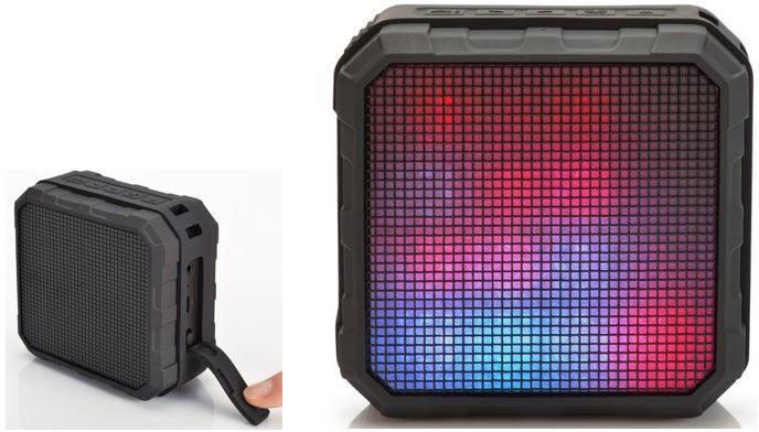 EDNET 33042 Spectro   mobiler LED Bluetooth Lautsprecher für 18,99€