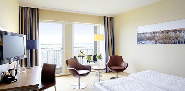2 ÜN am Fleesensee im 4* Hotel mit Frühstück & Spa (1 Kind bis 2 kostenlos) ab 89€ p.P.