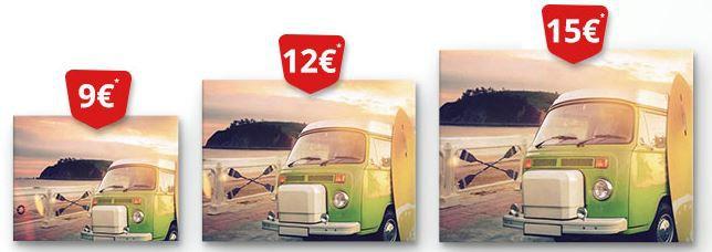 günstige Leinwände meinXXL 4 Leinwände (120x90cm) für nur 46,90€   TOP!