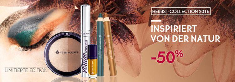 Yves Rocher Sale mit 50% auf ausgewählte Produkte + VSK frei ab 30€