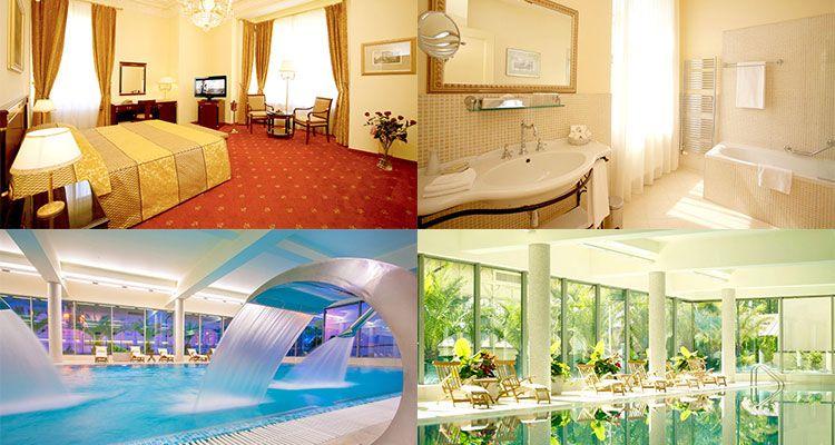 2 ÜN in Karlsbad im 5* Hotel inkl. Frühstück, Wellness & Abendessen ab 169€ p.P.
