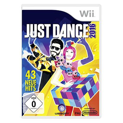 justdance2106 Just Dance 2016 für die Wii oder Wii U für je 19,99€