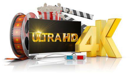 kinoabend mit 4k monitor 4K Monitor im Vergleich