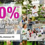 Nur heute: 10% Rabatt auf alles bei GartenXXL – z.B. 4x Duracell Solar-Gartenlampen für nur 31,46€