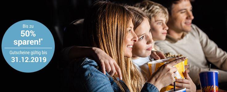 neue Cinestar Gutscheine Cinestar Kino Tickets günstig bei Tchibo   z.B. 2 Personen mit Getränken und Snacks für 20€