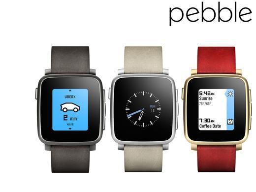 pebble time steel smartwatch Pebble Steel Smartwatch (beschädigte Verpackung) für 130€ (statt 183€)