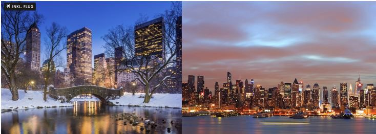silverster NYC Silvester in New York City, 5 Nächte   inkl. Party + Flug ab 1.599€ p.P.